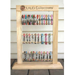 LILO Collections - Tri-Level Wood Bracelet Display #260003